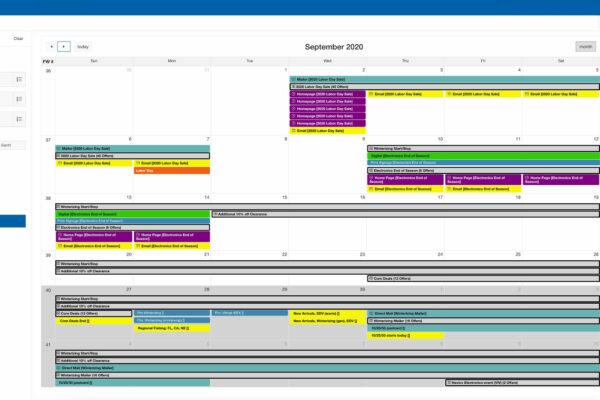 calendar view media
